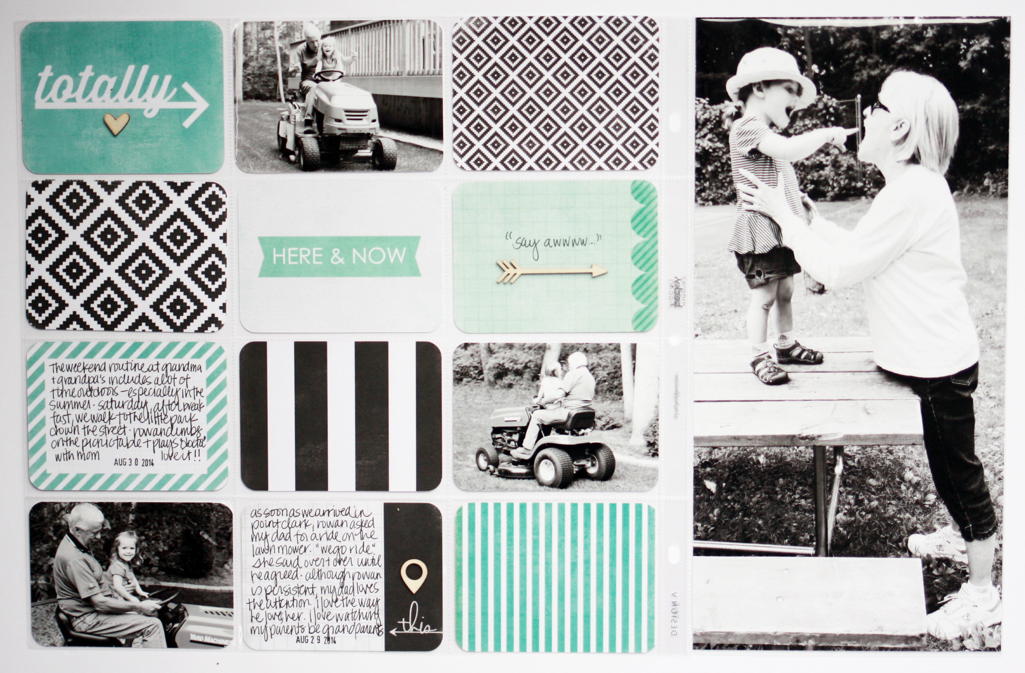 Project Life 2014: Week 36 / Scrapbook Cards Today Blog