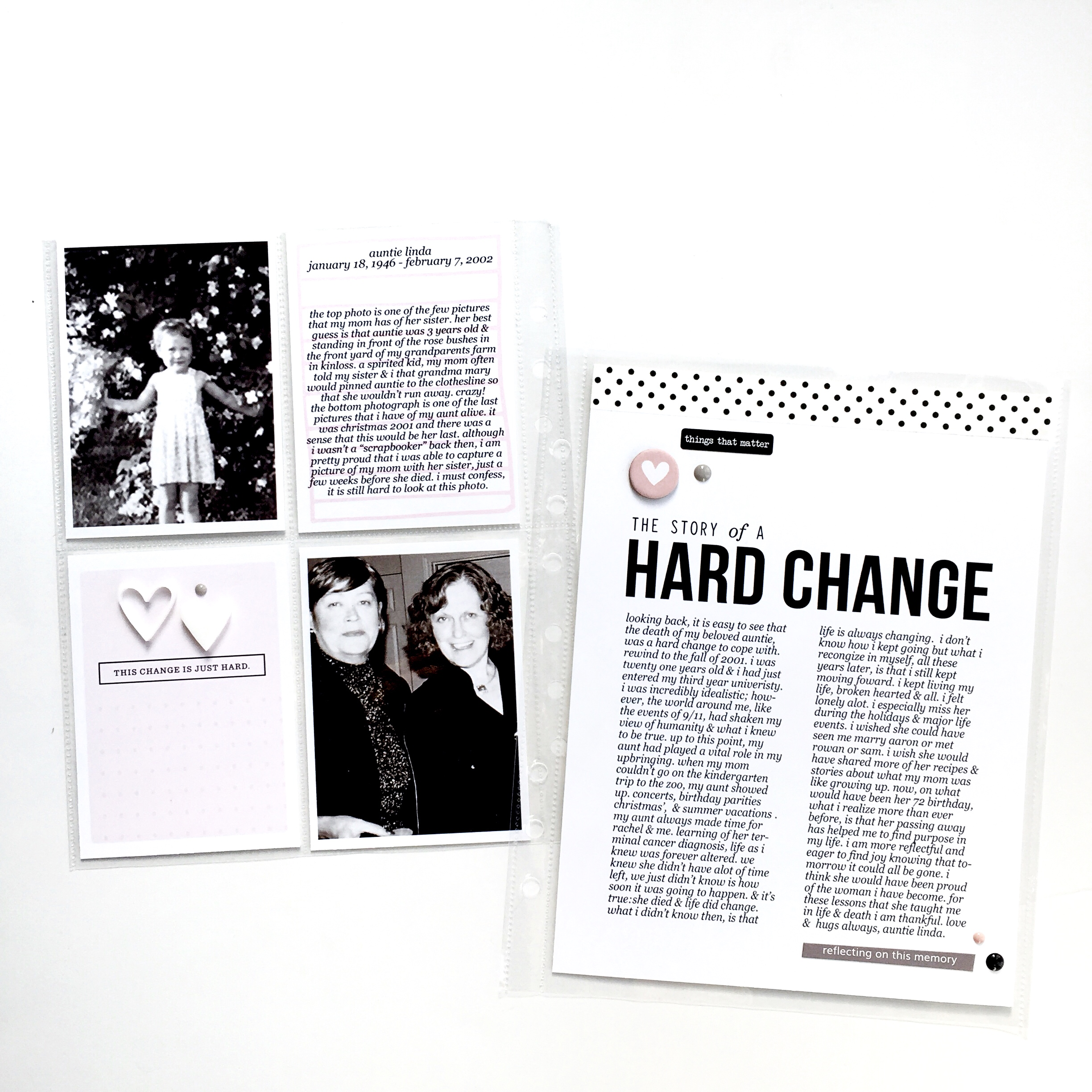 Ali Edwards: Changes Story Kit
